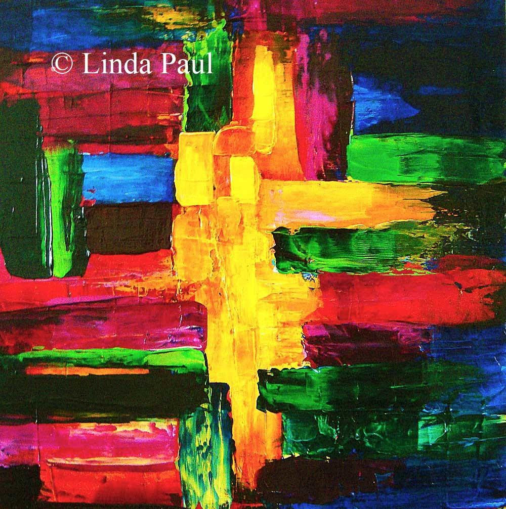 Abstract Art Paintings Colorful Contemporary Original
