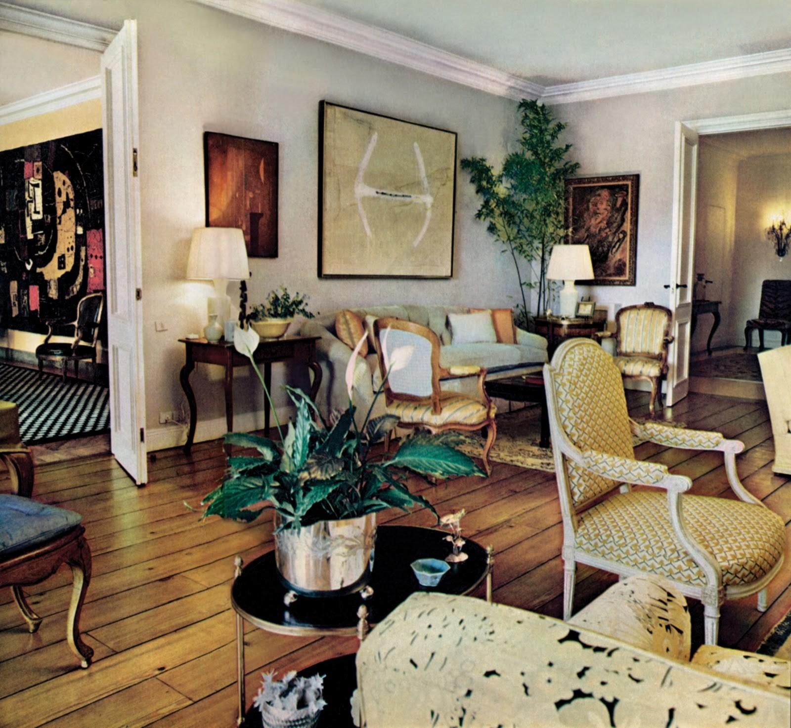Abstract Art Traditional Interiors Part Masters