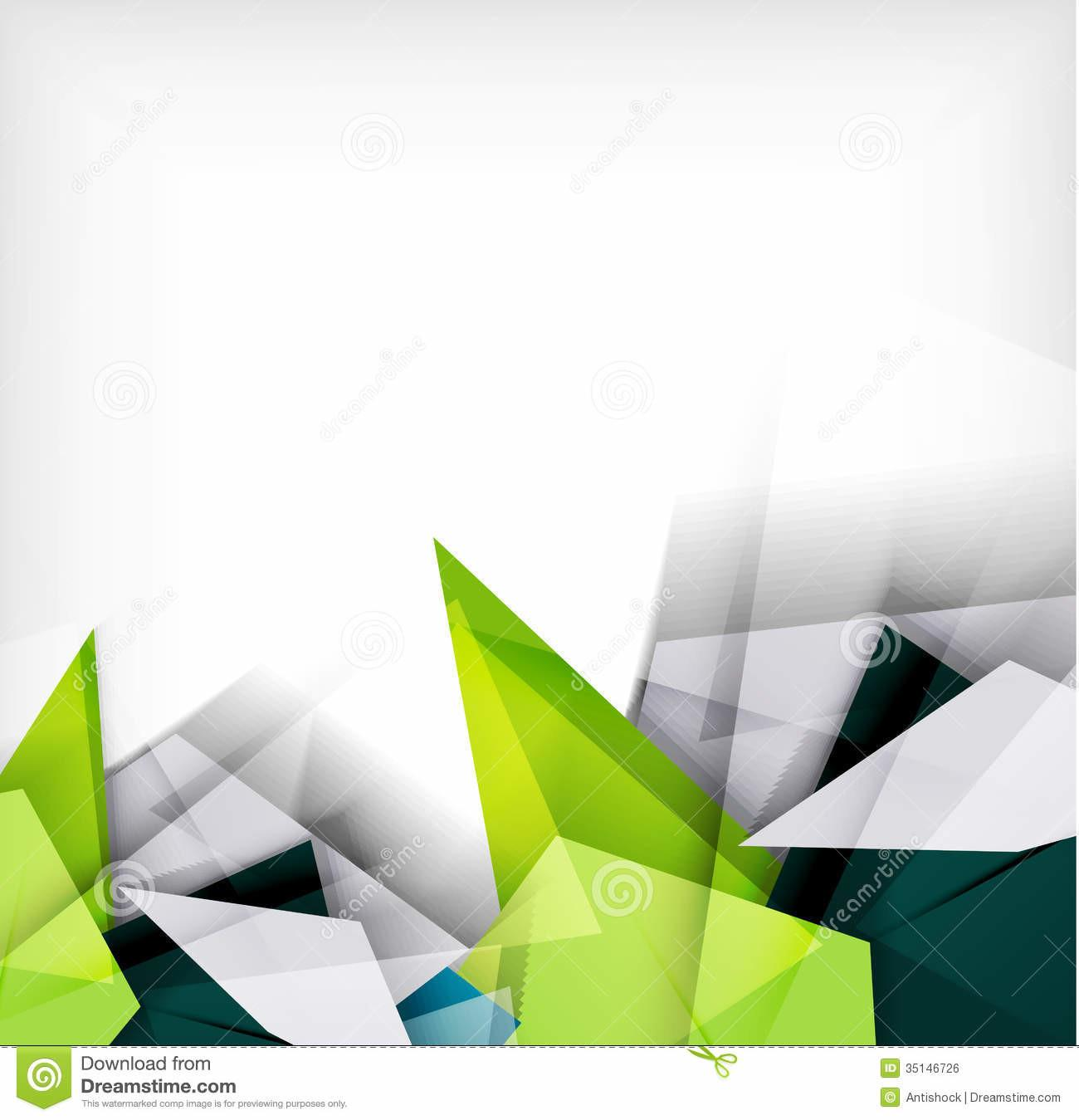 Abstract Geometric Shape Royalty Stock