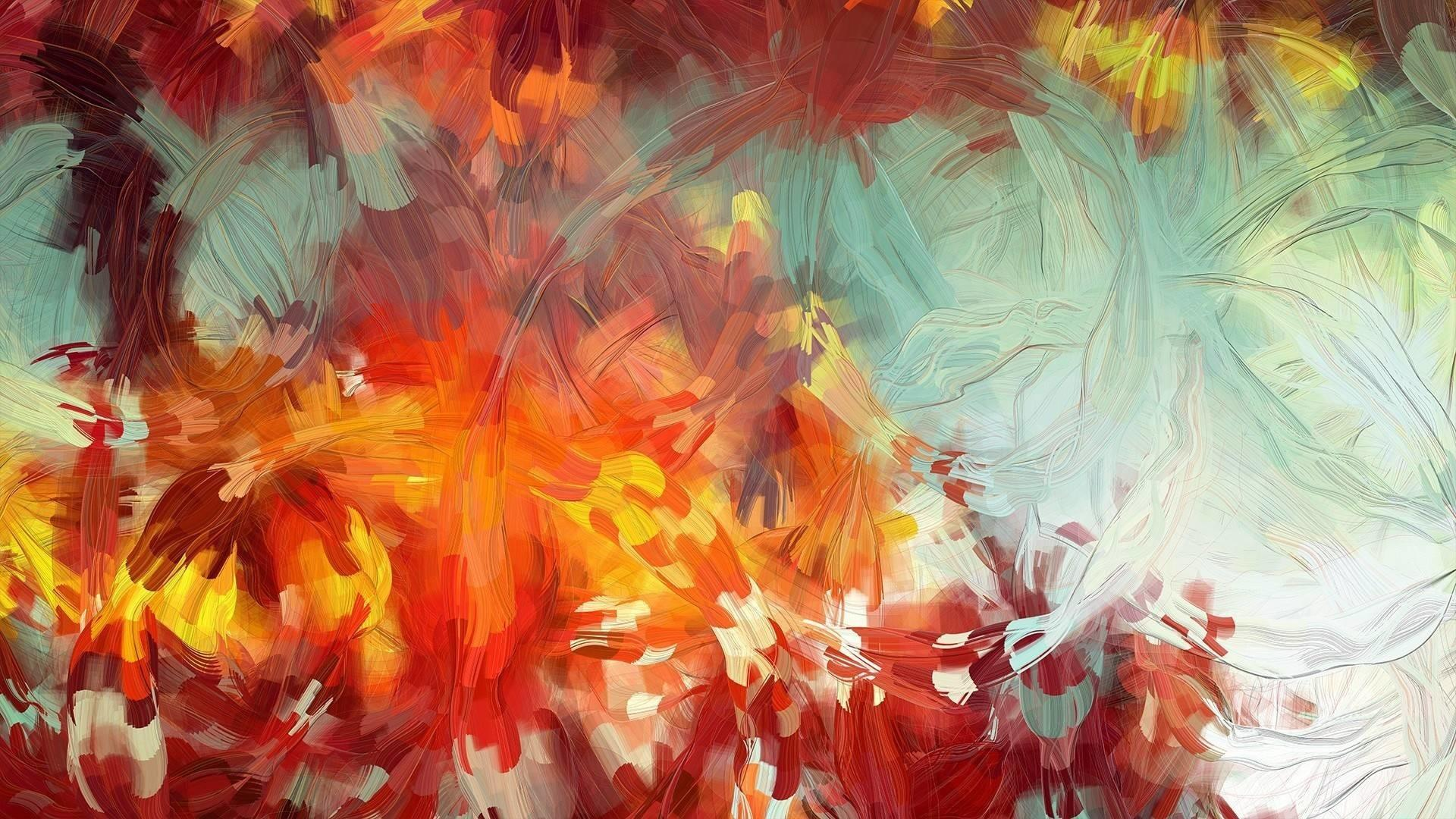 Abstract Painting Cave