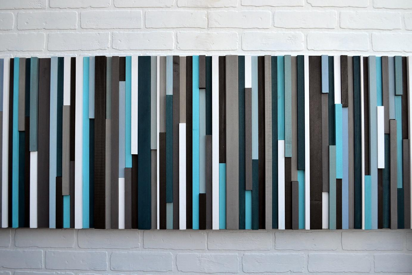Abstract Painting Wood Reclaimed Art Moderntextures