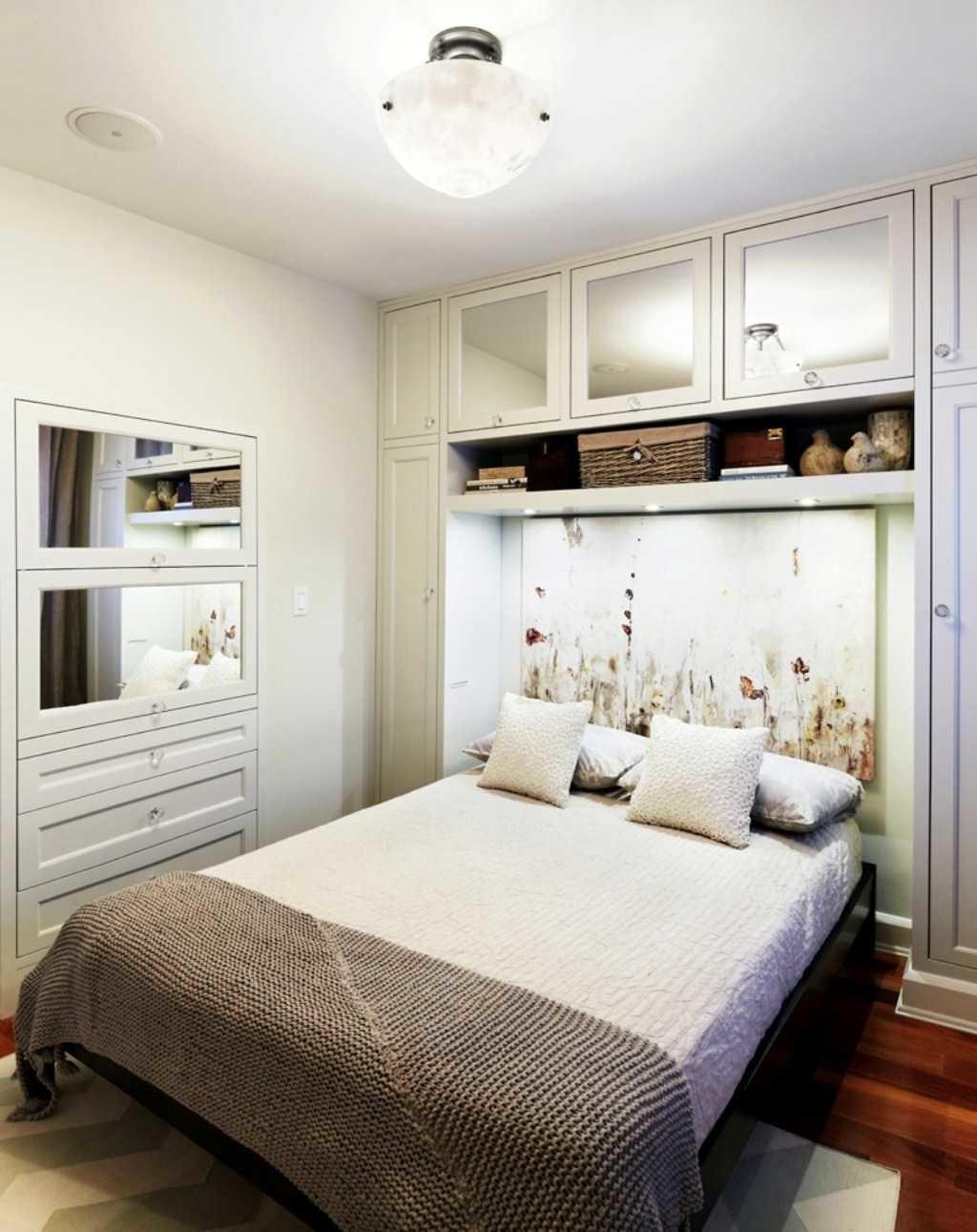 Accent Wall Ideas Narrow Bedroom Simple Painting