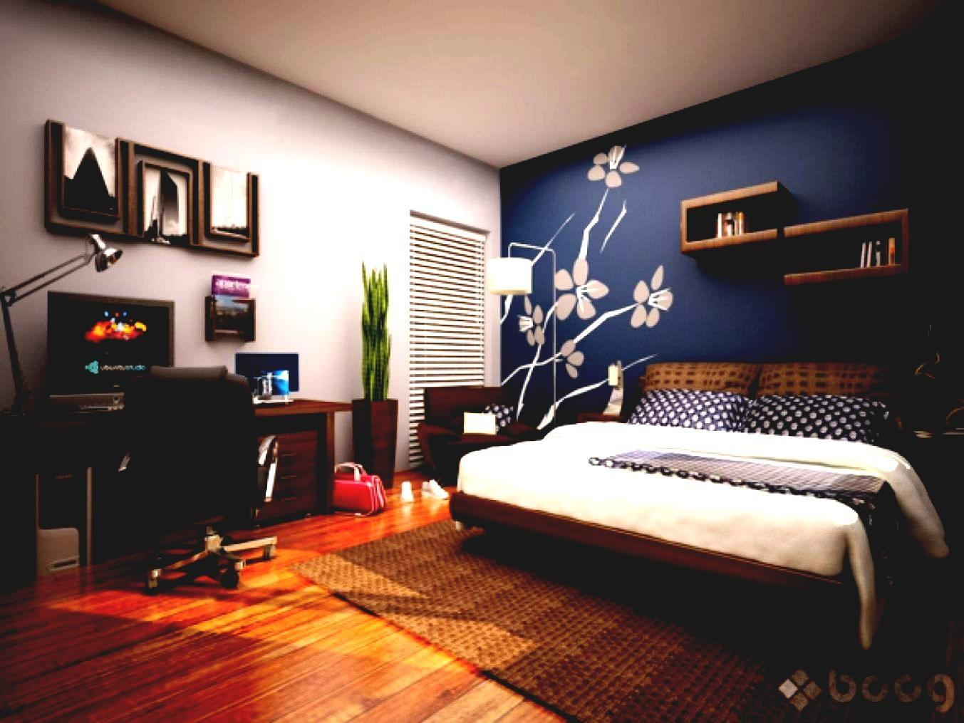Accent Wall Ideas Narrow Bedroom Trends Also Home
