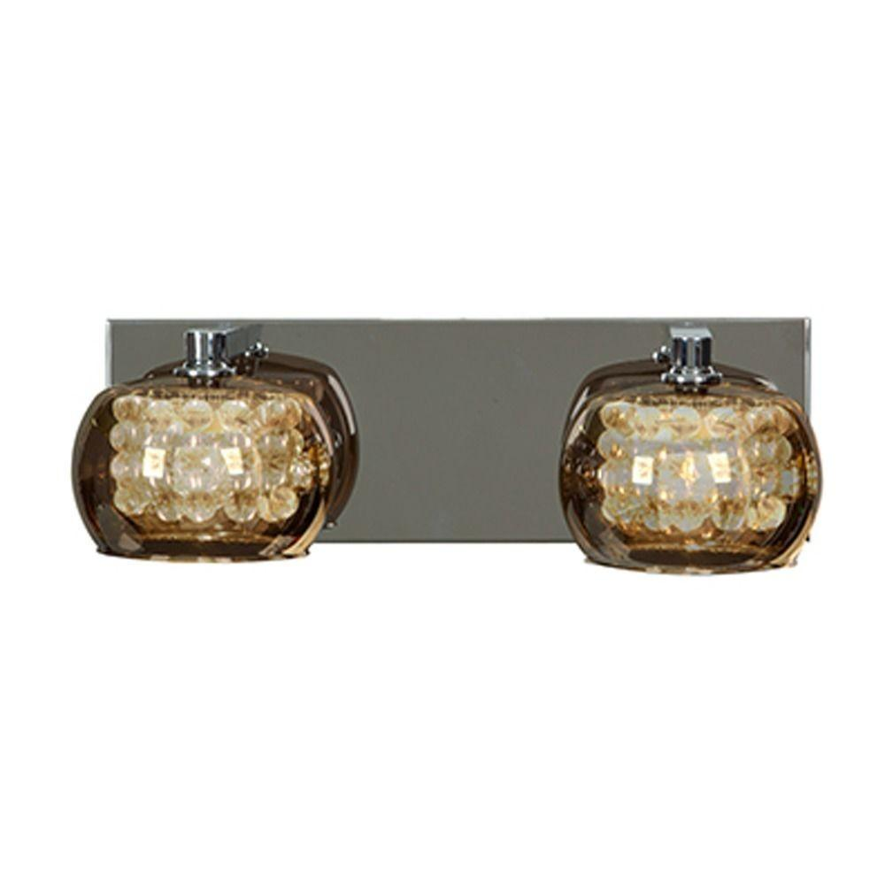 Access Lighting Glam Chrome Bathroom Light Mir
