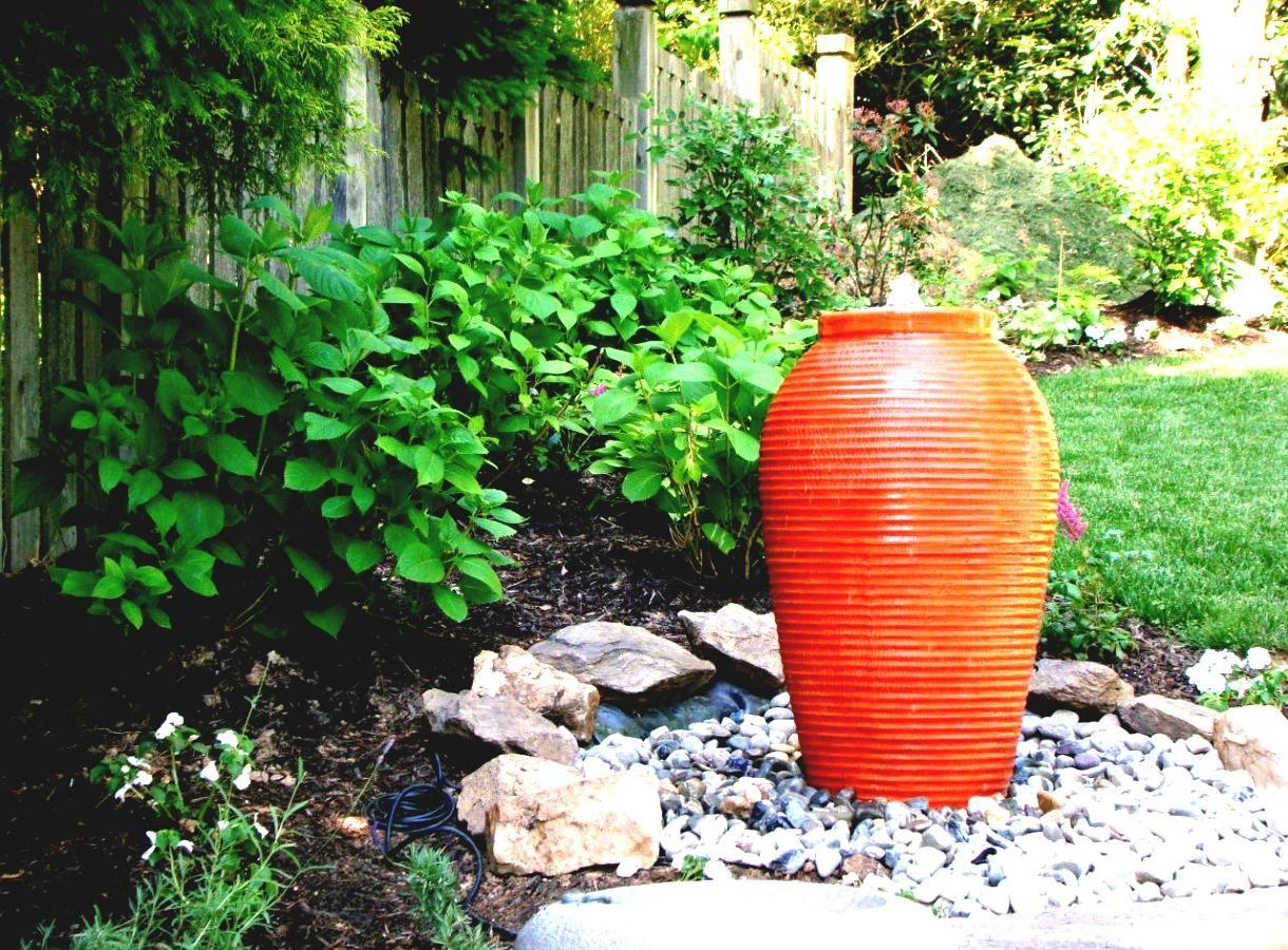 Accessories Water Feature Pot Design Come Rounded