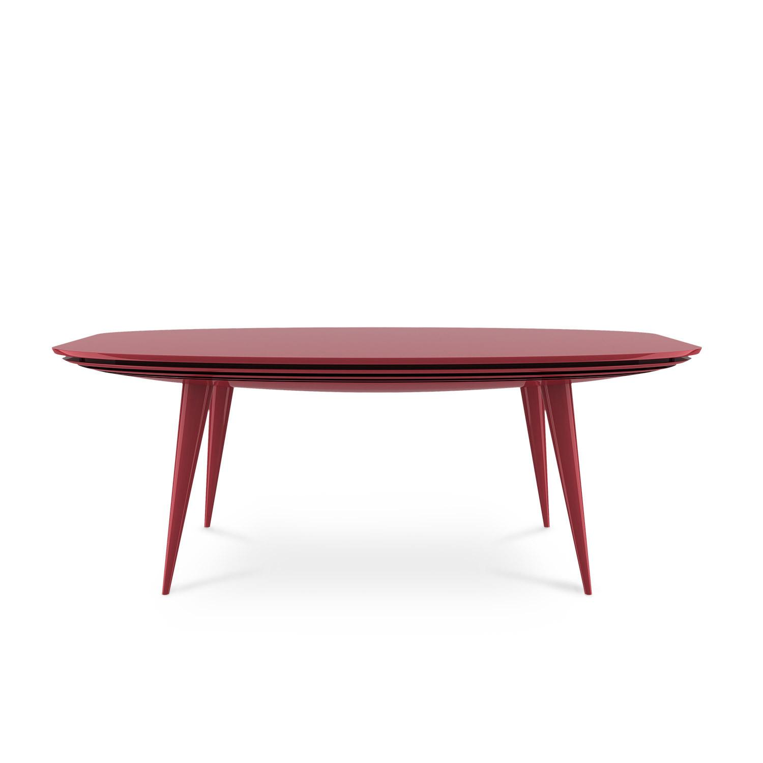 Accum Lacquered Dining Table Contemporary Furniture Design