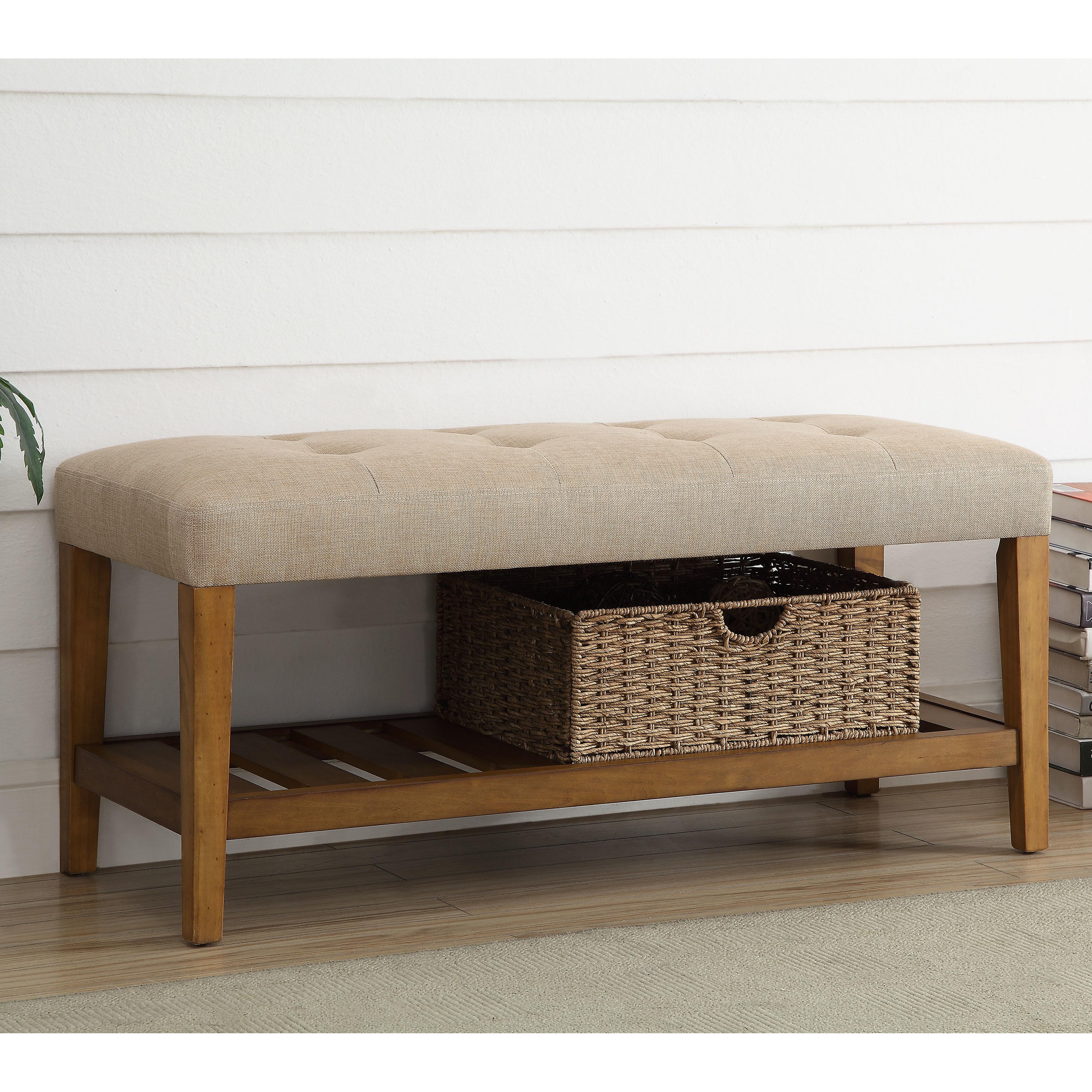 Acme Furniture Charla Upholstered Entryway Bench
