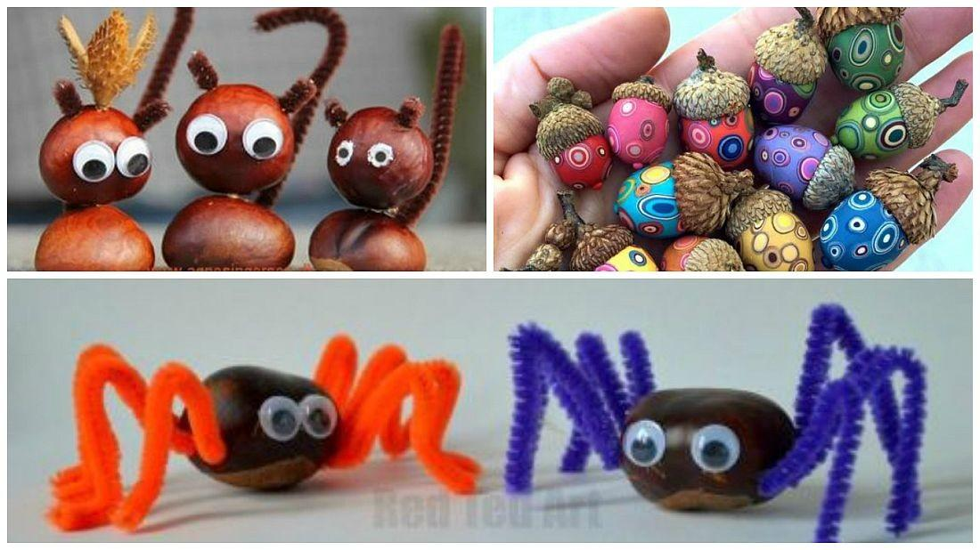 Acorn Chestnut Crafts Handy Ideas Houz Buzz