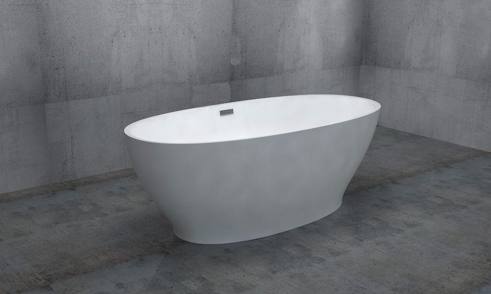 Acrylic Spa Bathtub Freestanding Overflow Body Soaking