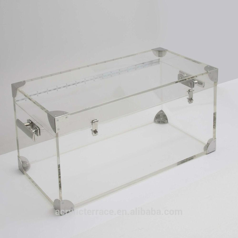 Acrylic Trunk Coffee Table Modern Style Buy Clear