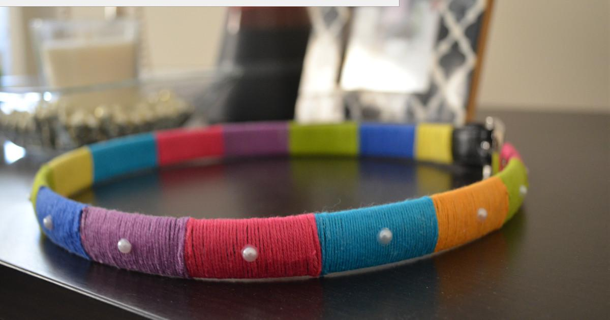 Act Style Blog Diy Thread Wrapped Fancy Belt