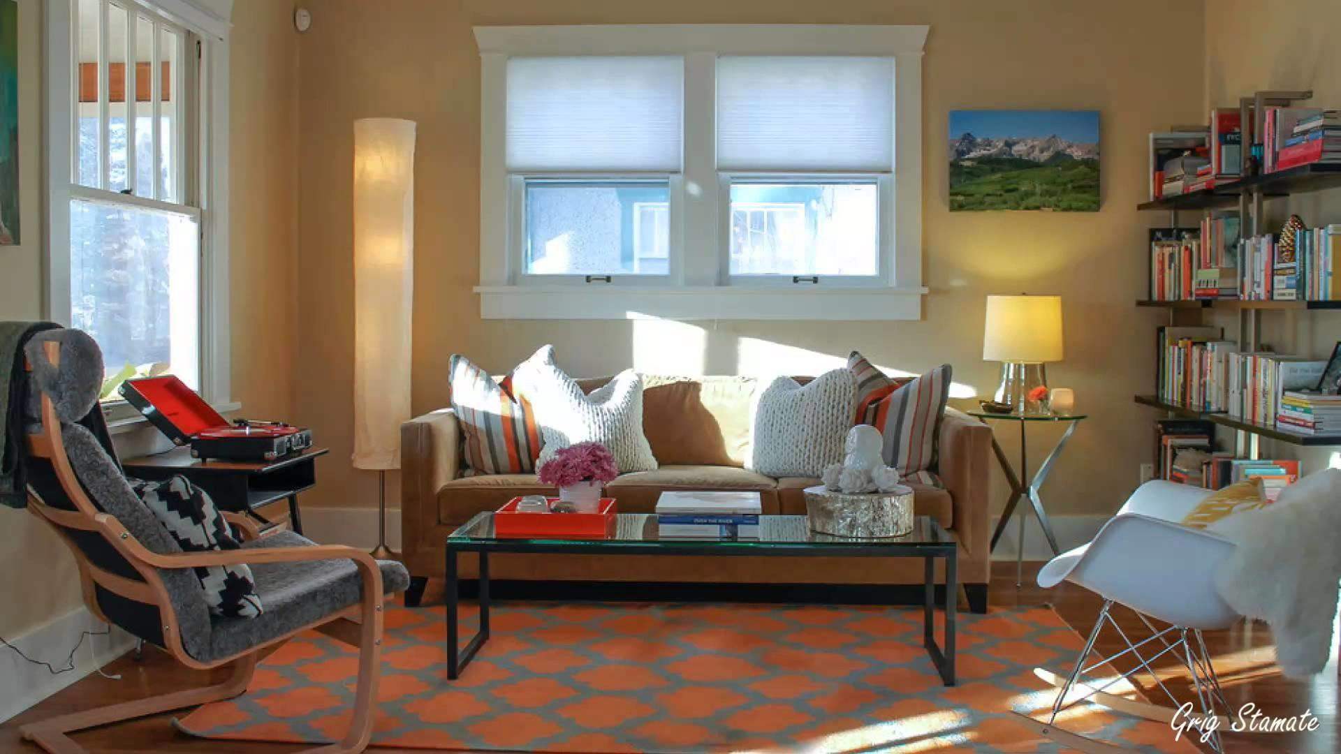 Adding Color Small Apartment Colorful Eclectic Style