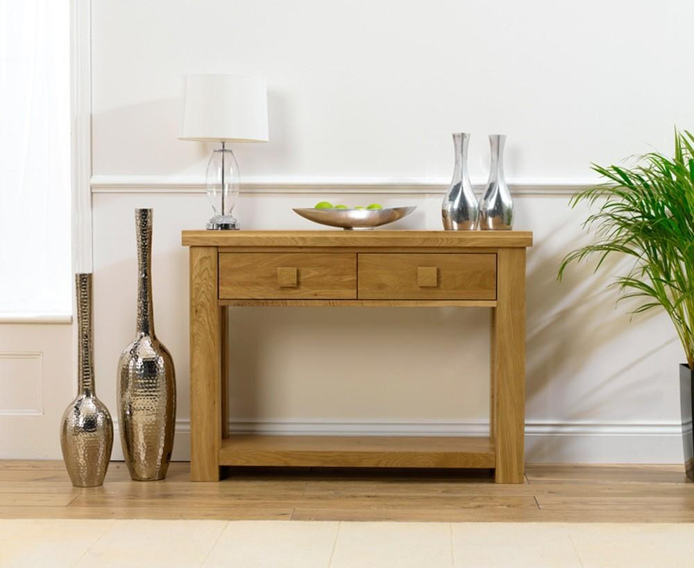 Adding Narrow Console Tables Perfect Interior Room