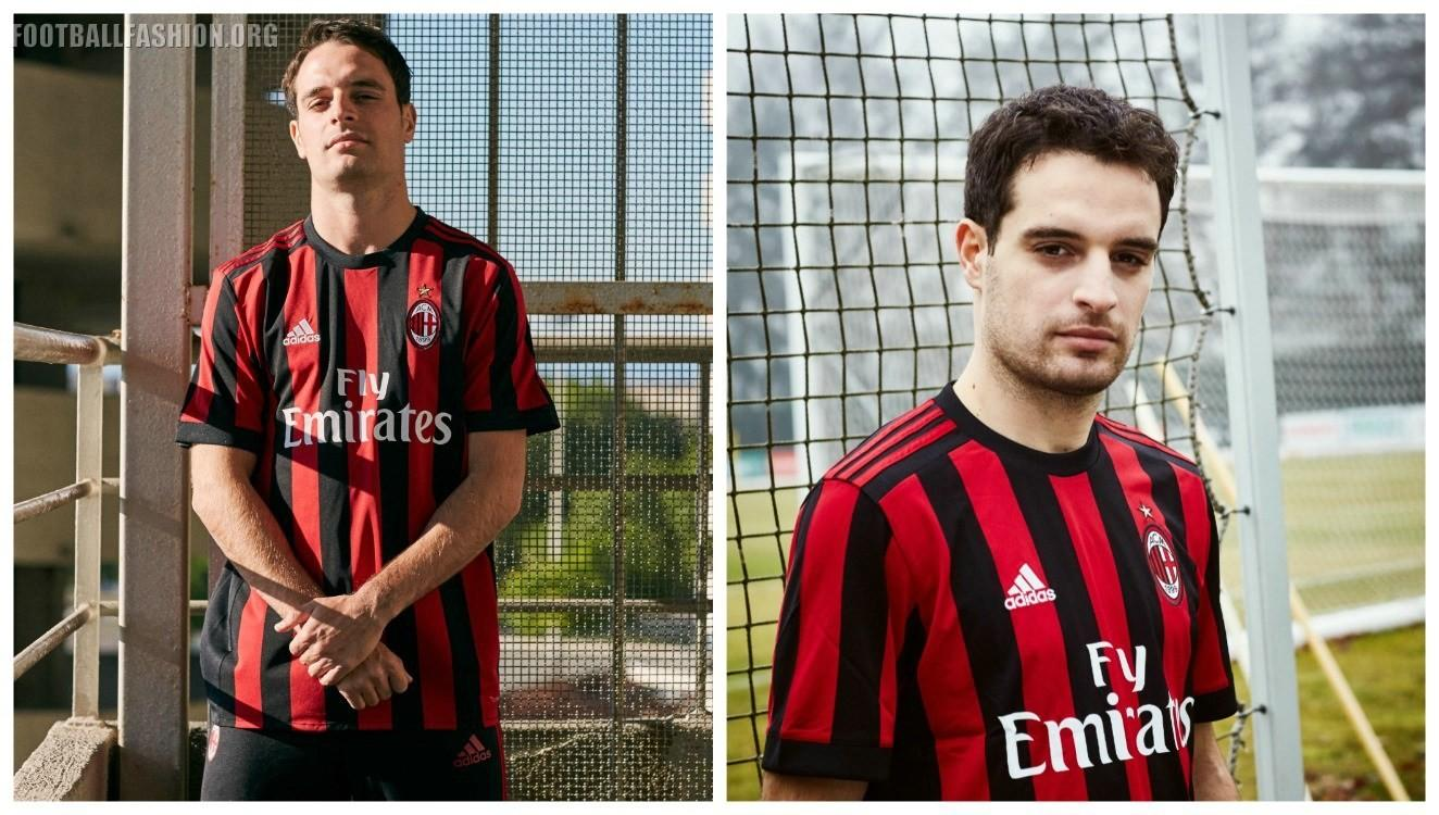 Adidas Soccer Reveals Milan 2017 Home Kit Football
