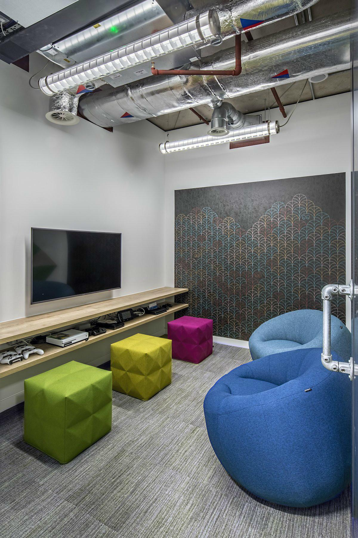 Adobe New London Office Features Industrial Yet Colorful