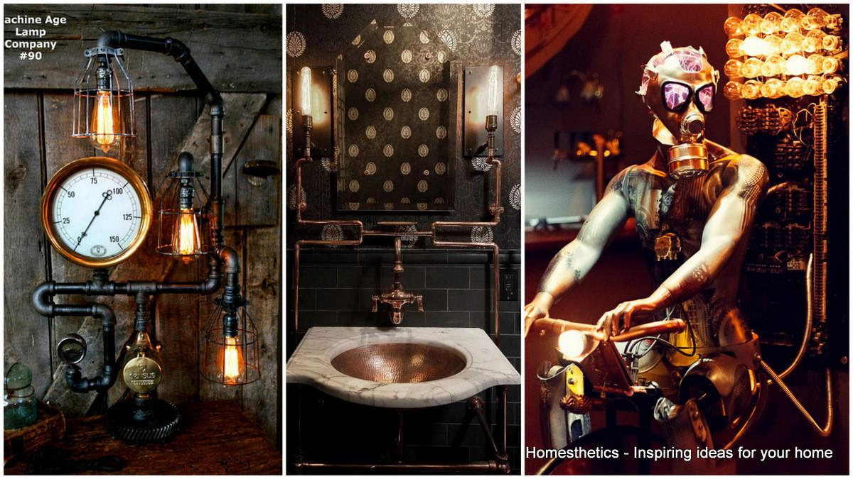Adopt Unconventional Steampunk Decor Your Home