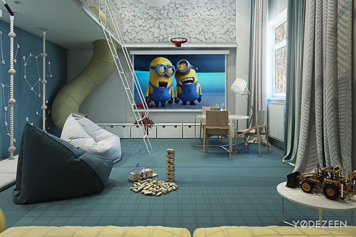 Adorable Apartment Design Kids Lots Funny