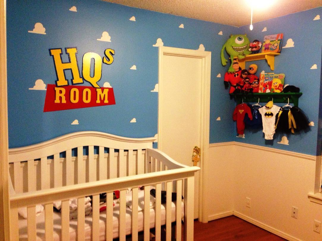 Adorable Cartoon Themed Nursery Ideas