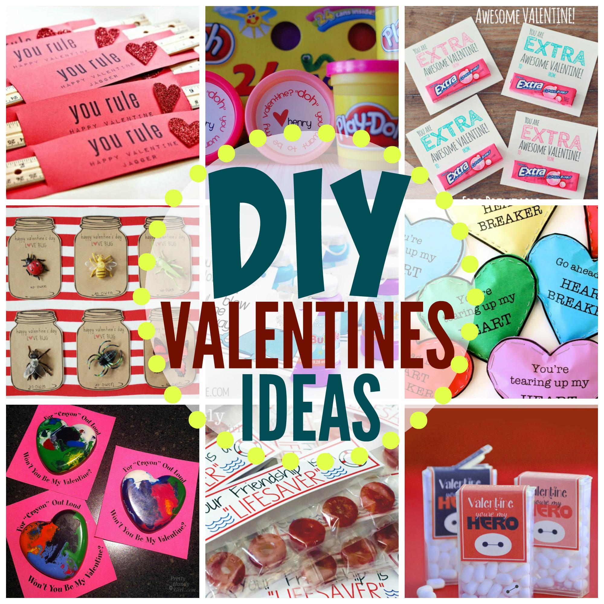 Adorable Diy Valentines Kids Can Make School
