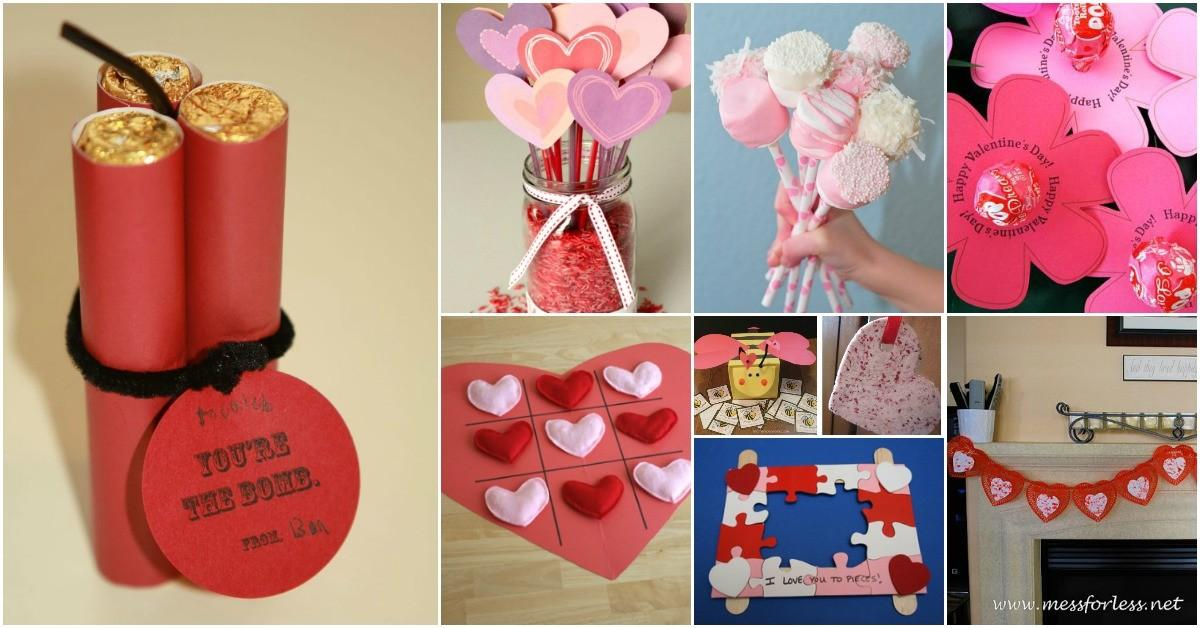 Adorable Easy Diy Valentine Day Projects Kids