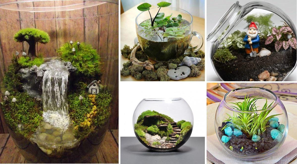 Adorable Miniature Terrarium Ideas Try