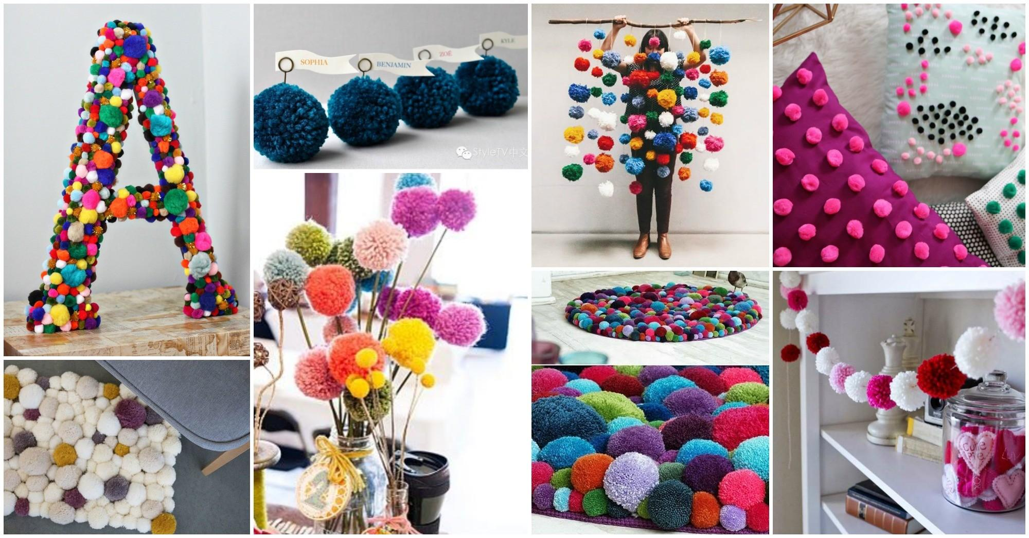 Adorable Pom Decor Ideas Brighten Your Day