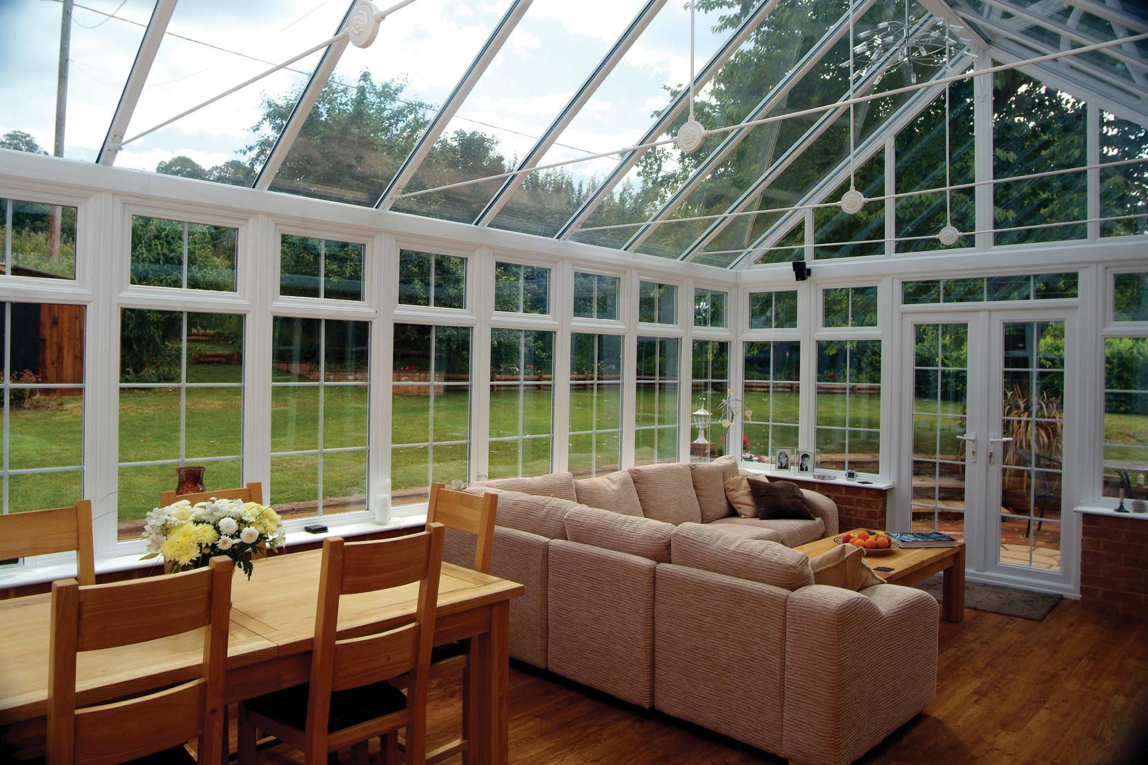 Adorable Sun Room Home Interior Design Ideas Glass