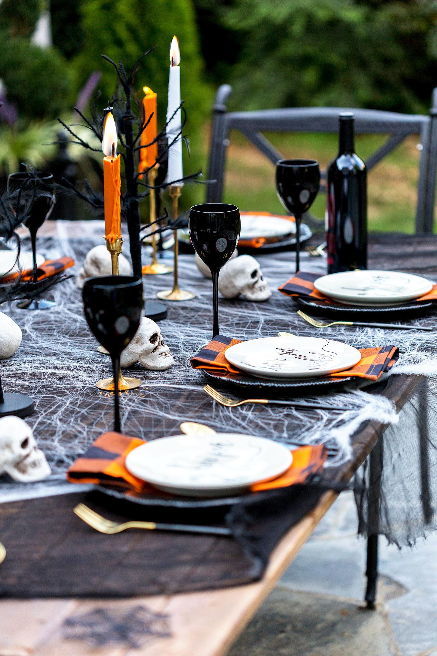 Adult Halloween Party Decorations Menu Ideas