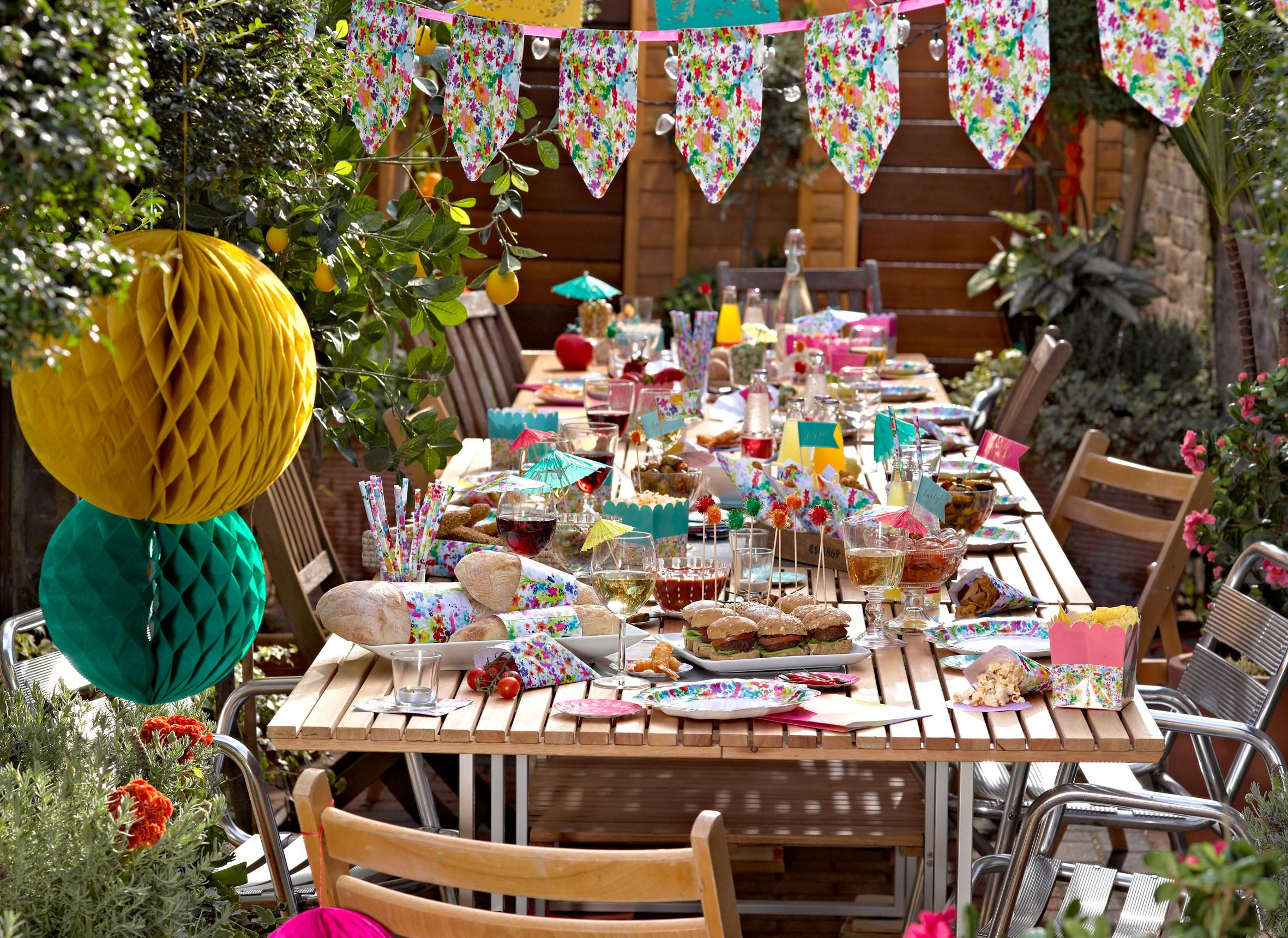 Adult Spring Party Ranges Pieces Blog Inspiration
