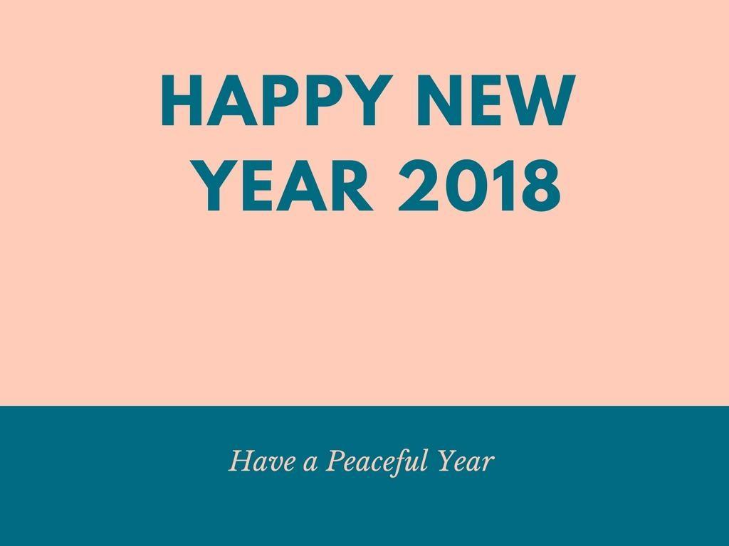 Advance Happy New Year 2018 Best Wishes Friends
