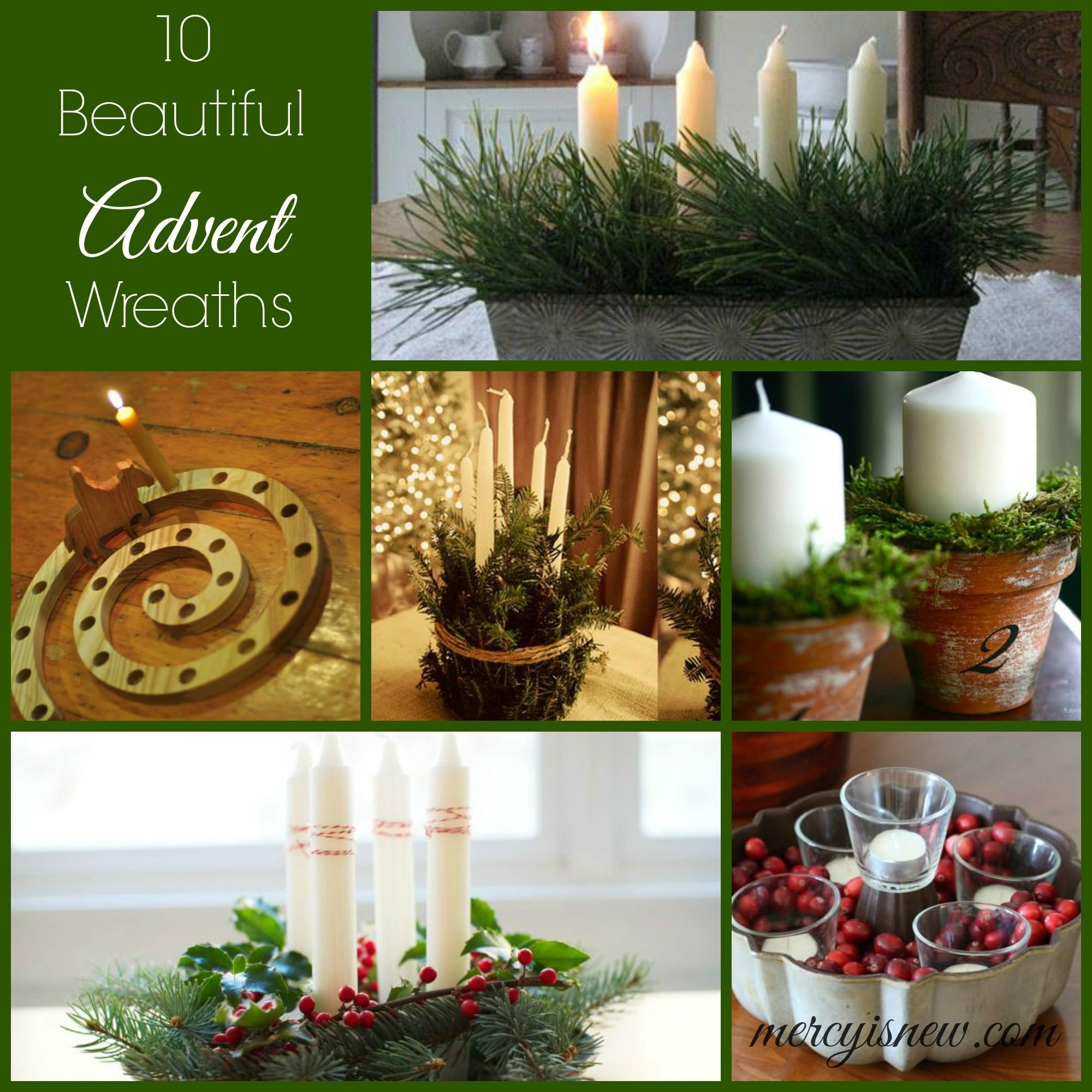 Advent Wreaths Tradition Light His Mercy New