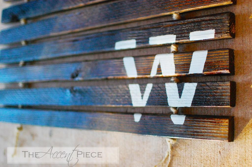 Adventures Creating Feature Friday Accent Piece
