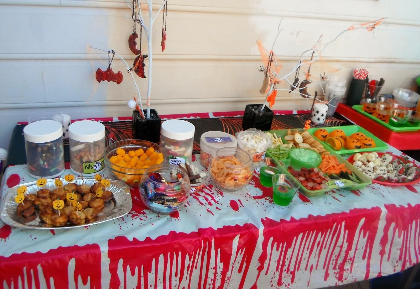 Adventures Home Mum Halloween Party Food