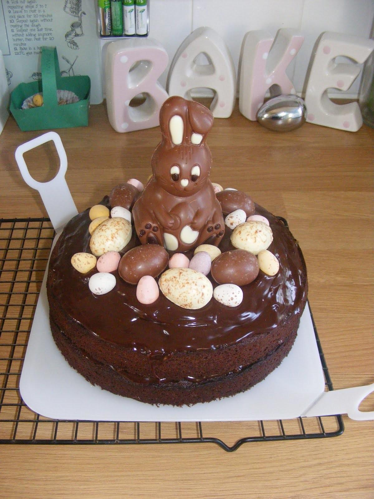 Adventures Play Chocolate Easter Cake
