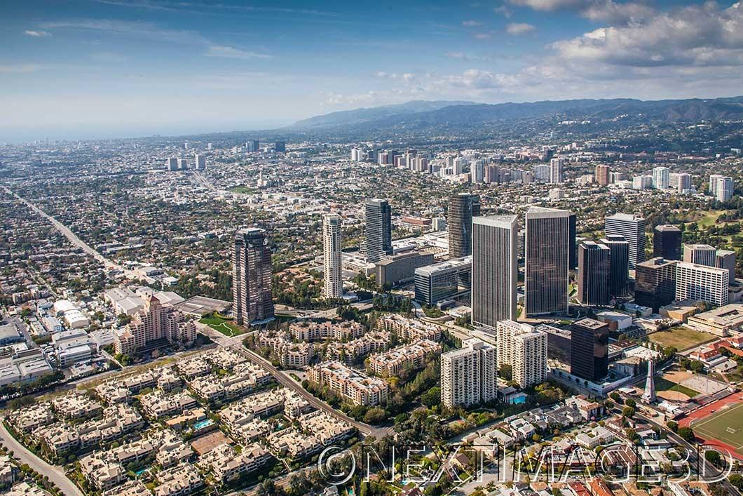 Aerial Views Century City Recent Projects