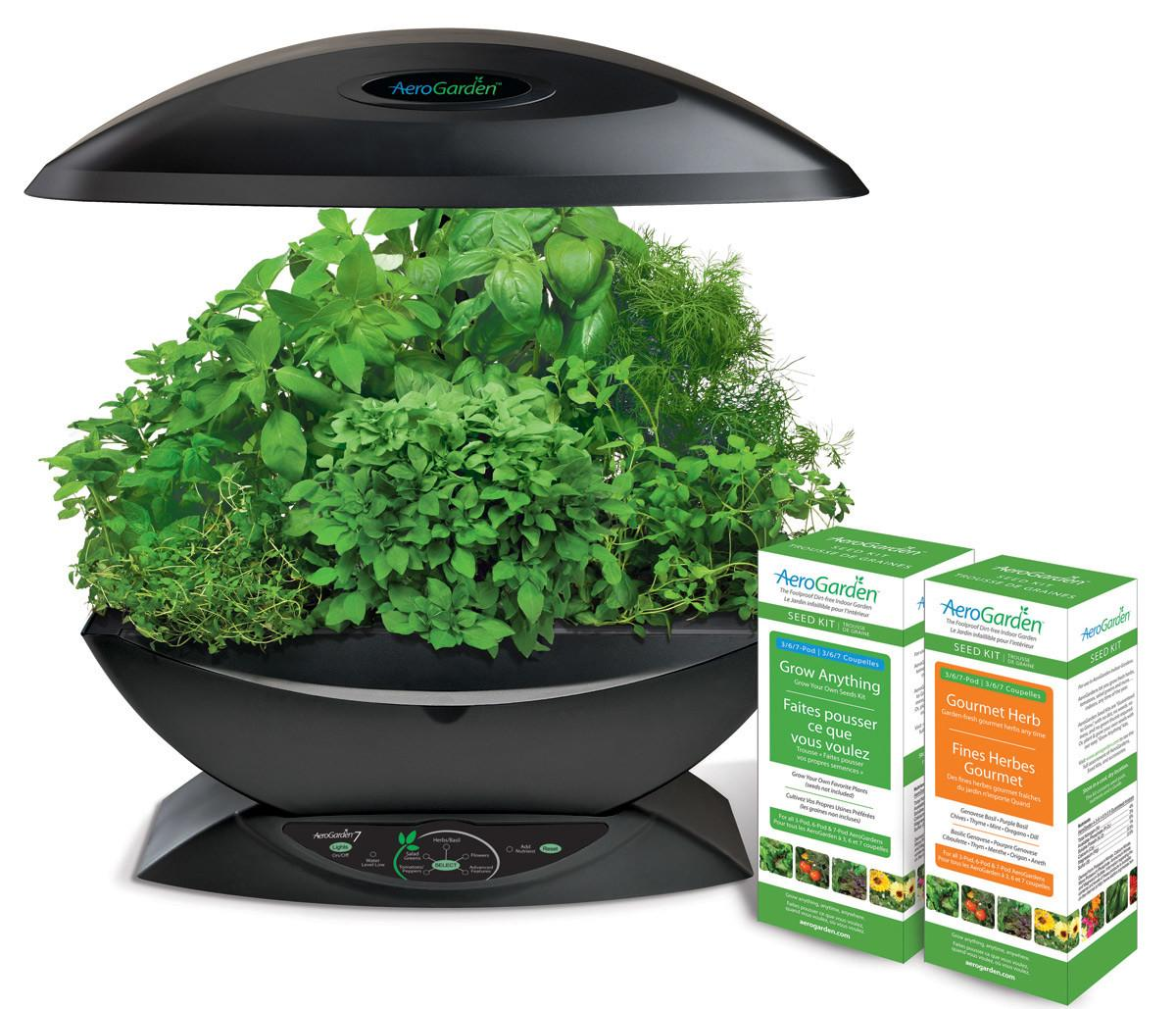 Aerogarden Gourmet Herb Grow Anything Kit Hydroponic