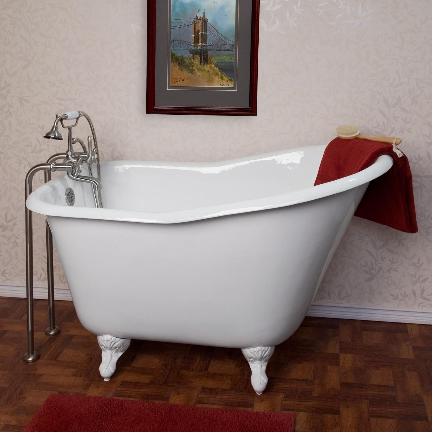 Affordable Clawfoot Tub Refinishing Wooden Houses