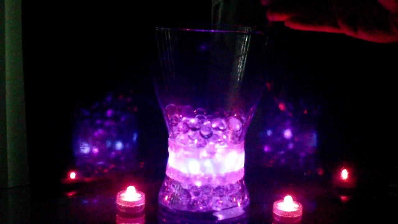 Affordable Glowing Centerpieces