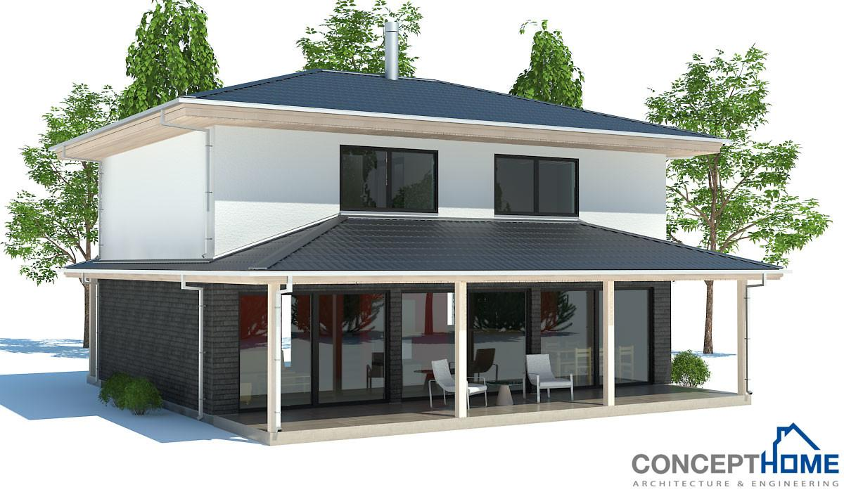 Affordable House Plan Two Bedrooms Three