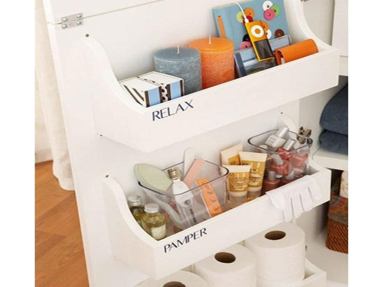 Affordable Simple Bathroom Storage Ideas Small Spaces