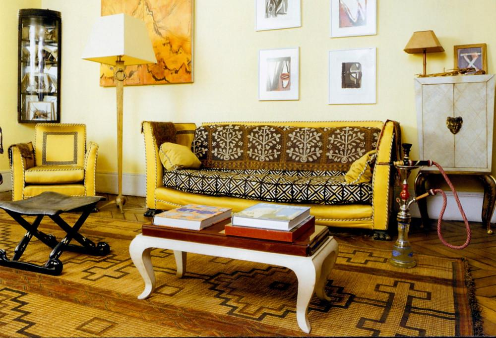 African Fashionista Inspired Living Room