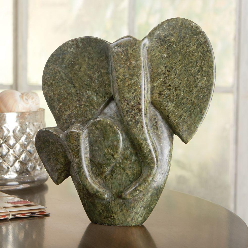 African Shona Elephant Sculpture National Geographic Store