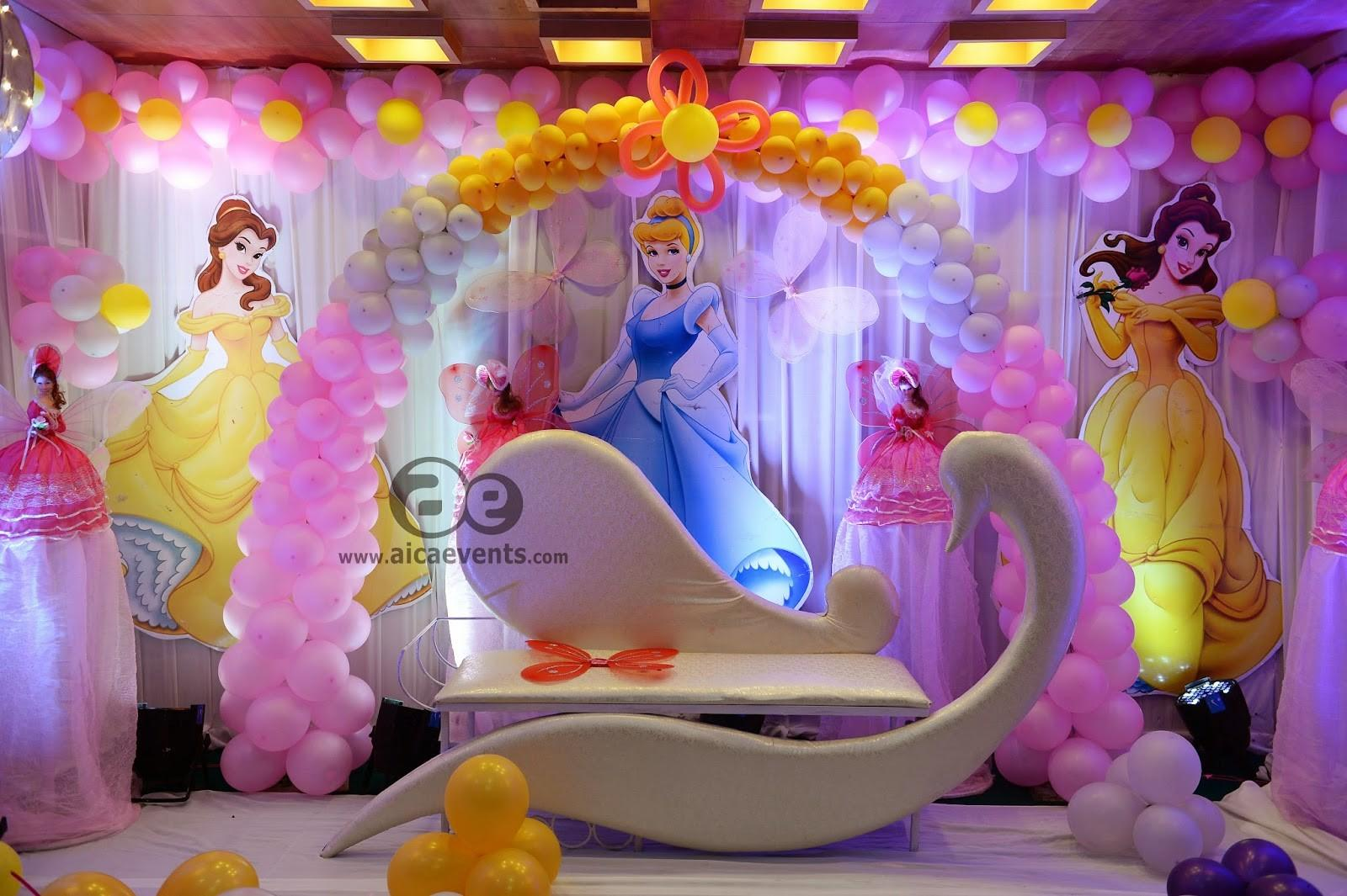 Aicaevents India Barbie Theme Decorations Aica Events