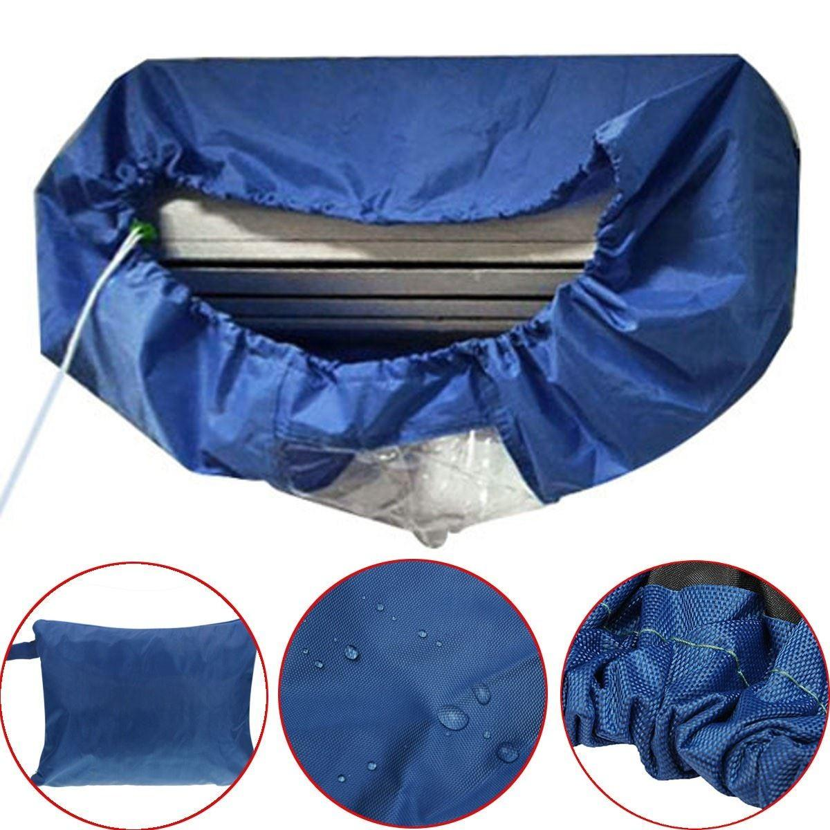 Air Conditioner Waterproof Cleaning Cover Diy Washing