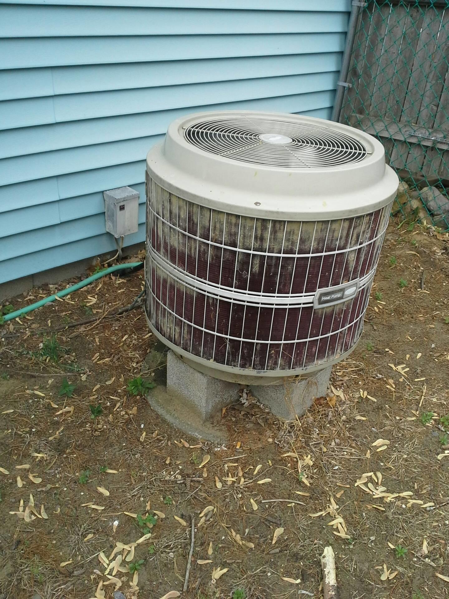 Air Conditioning Does Outdoor Condenser Unit Heat
