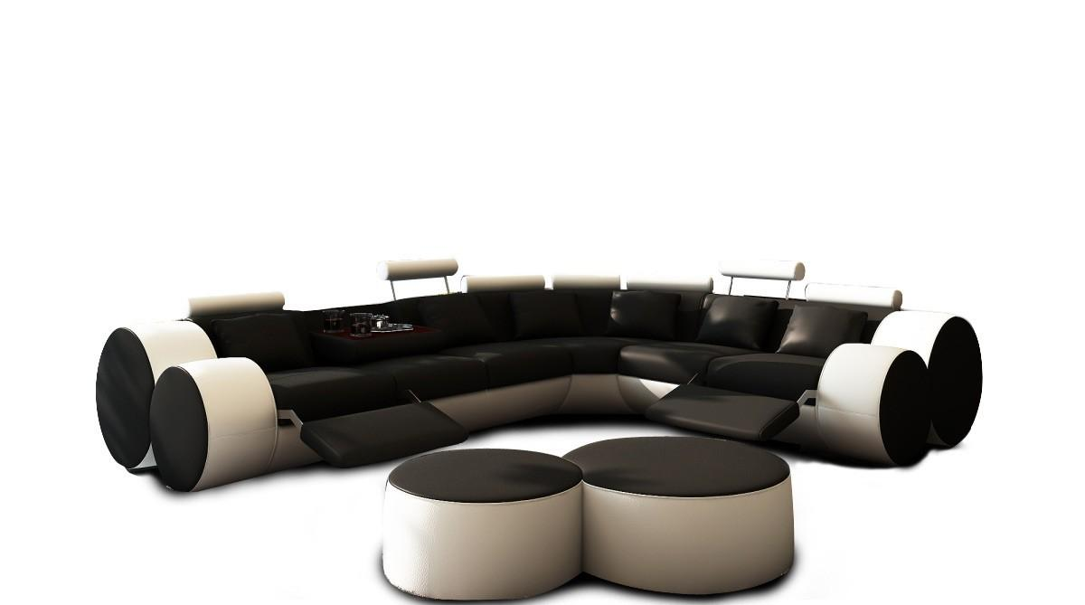 Air Modernity White Leather Coffee Table Coffe