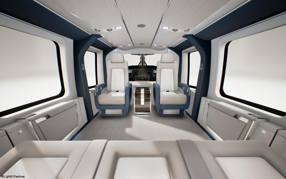 Airbus Helicopters Introduces H160 Vip Version Ebace