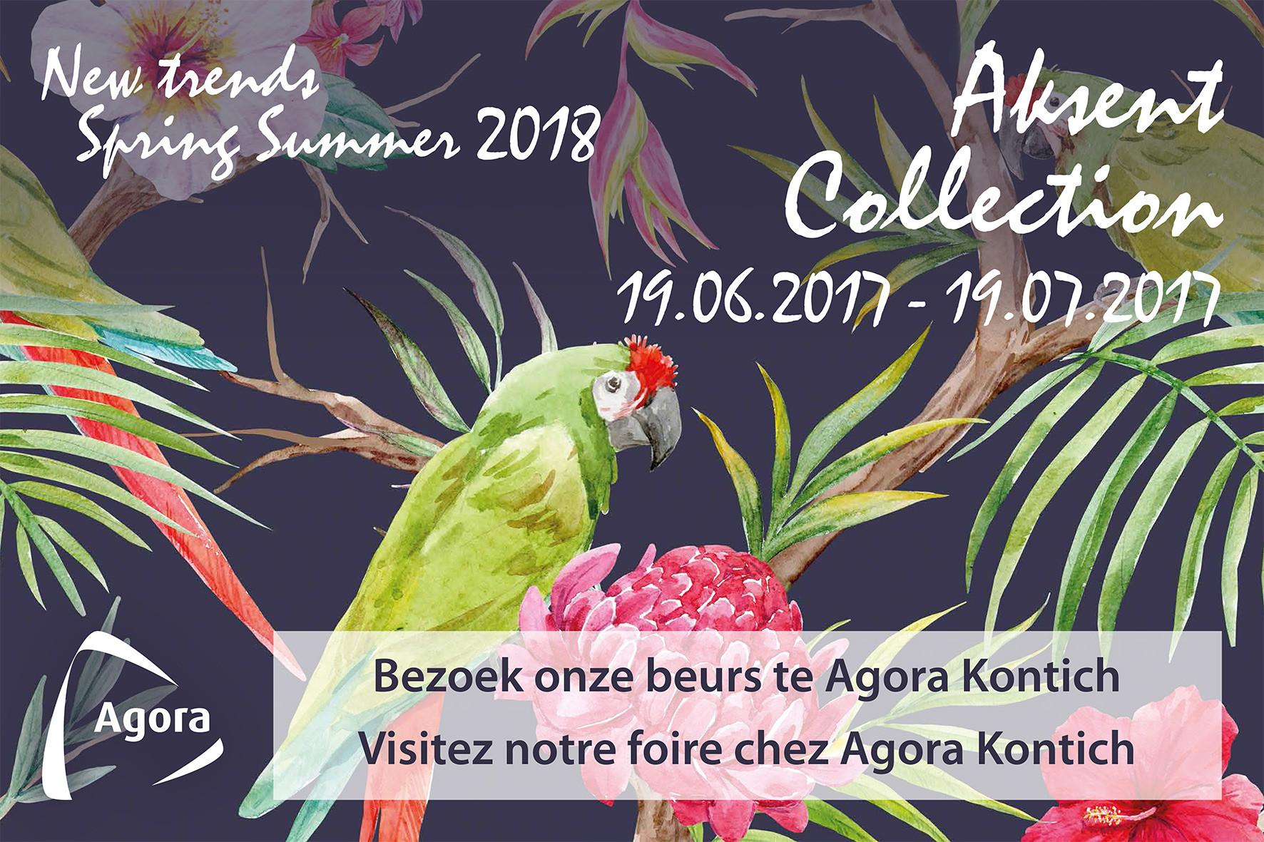 Aksent Collection Spring Summer 2018 Agora Group