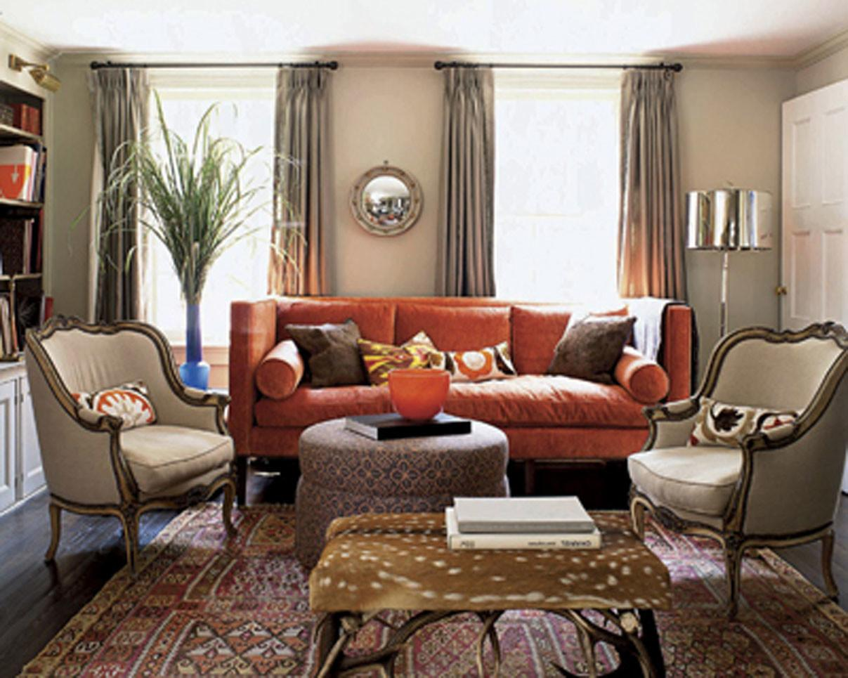 37 Dream Rust Colored Home Decor That, Rust Color Living Room