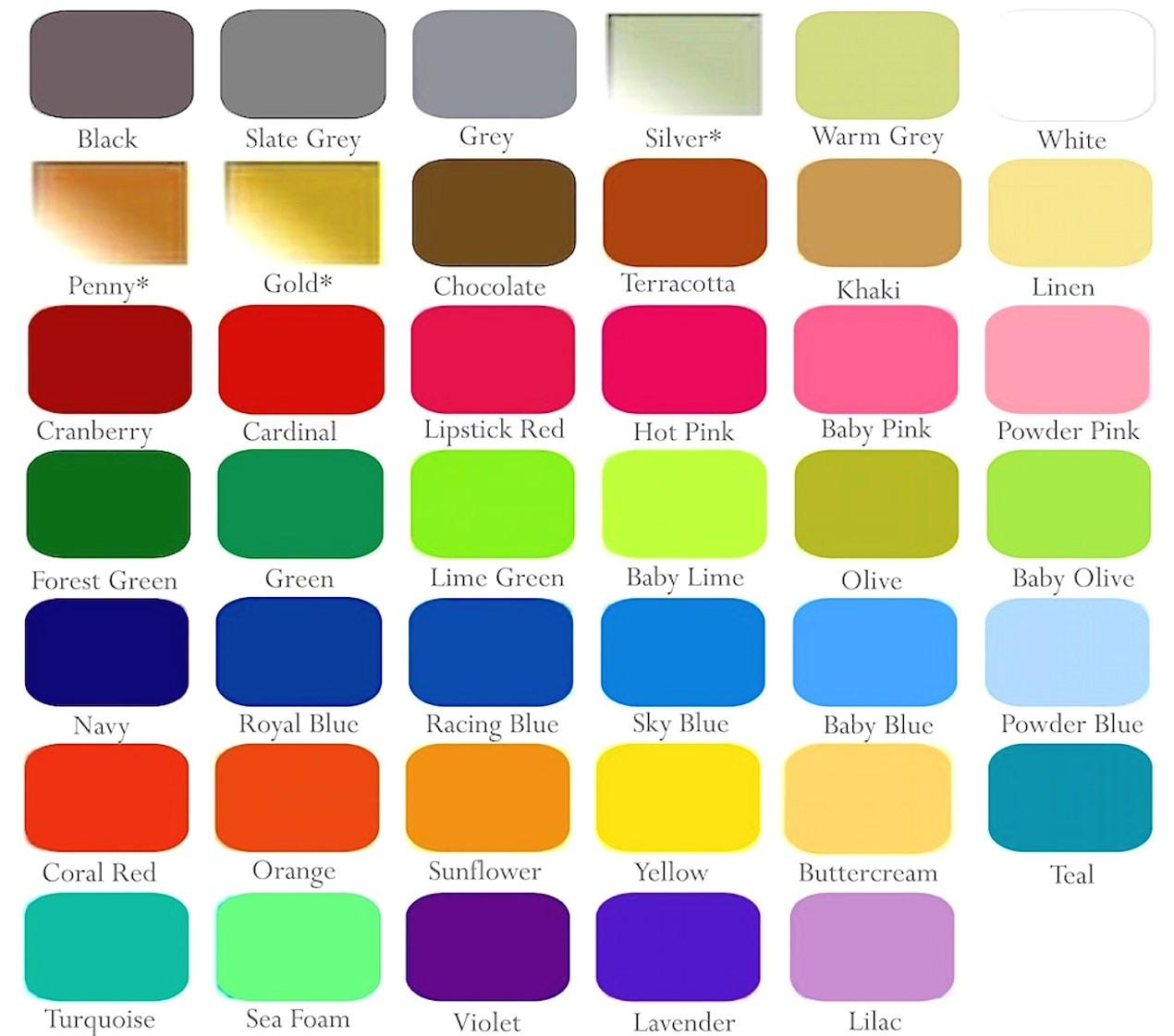 Alcohol Ink Color Chart Collections Any
